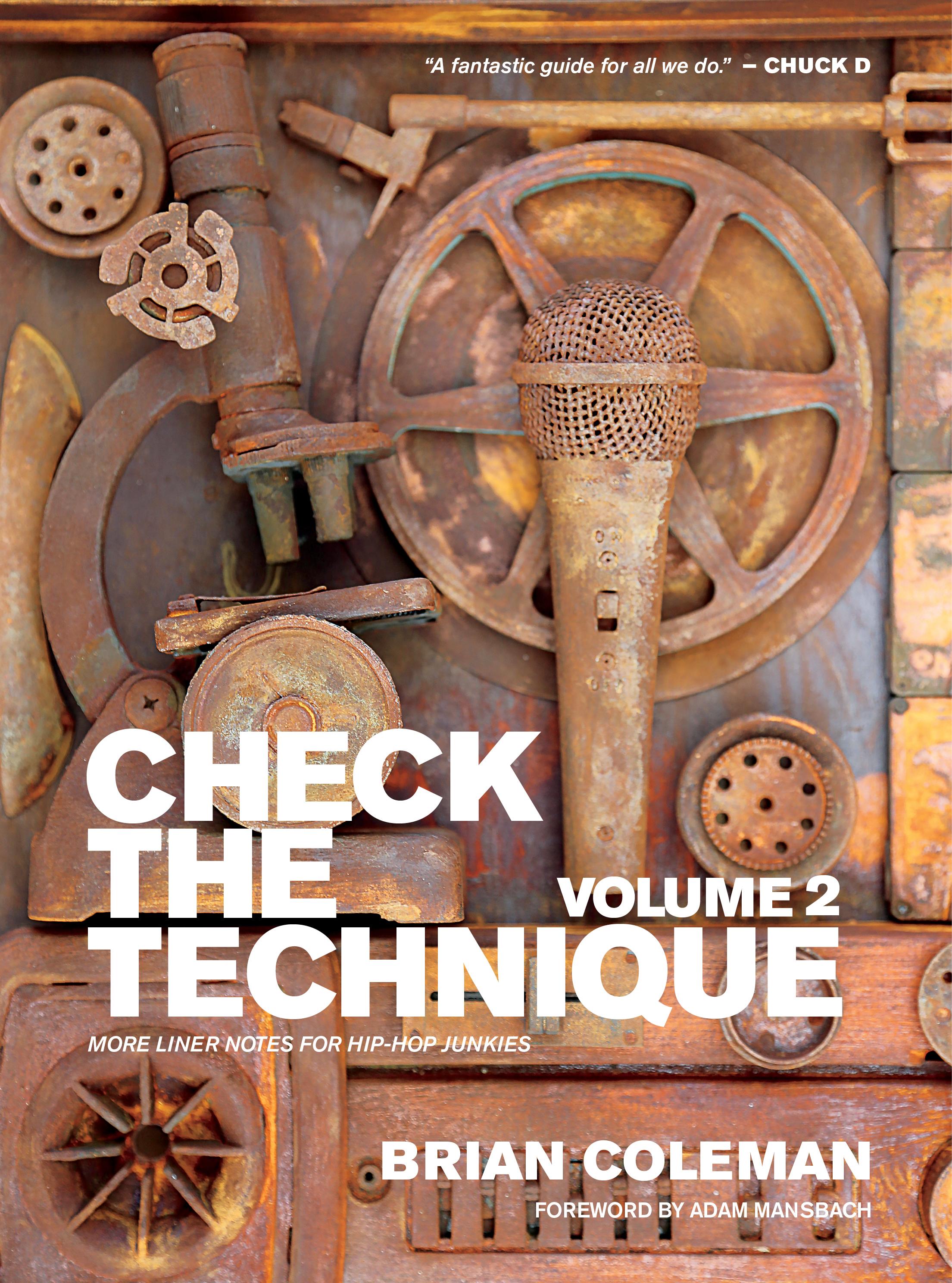 Check the Technique Vol 2 FRONT COVER HIREZ