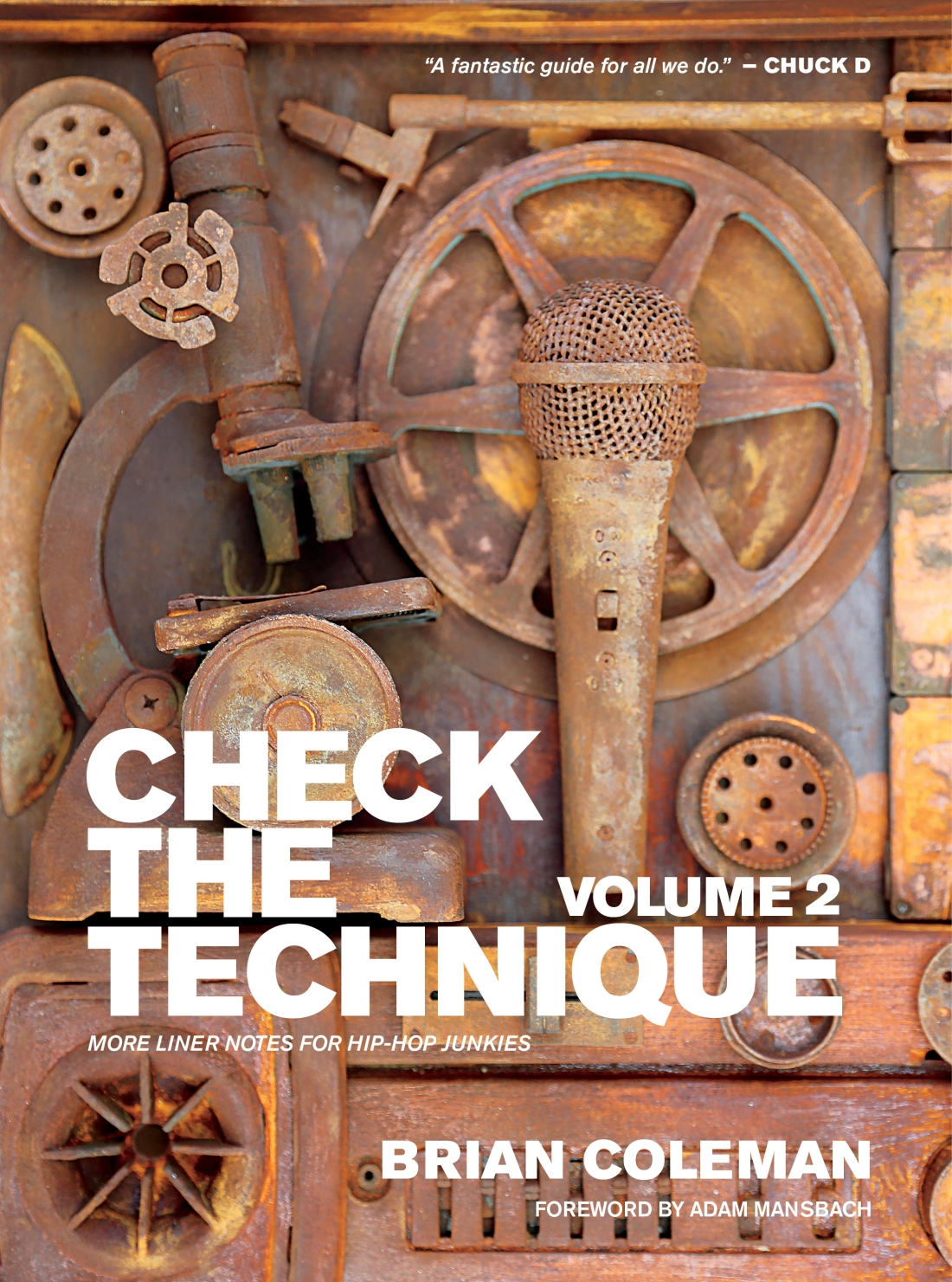 Check the Technique Vol 2 FRONT COVER HIREZ