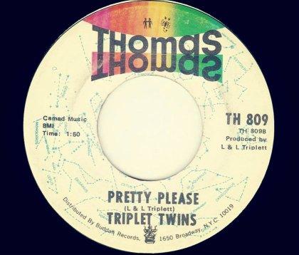 triplett twins 45